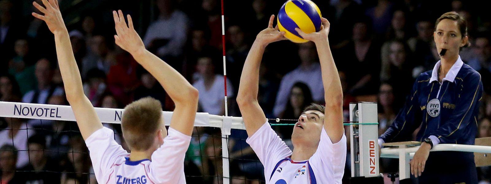 Gilles Braas wird die Fäden im Spiel der Luxemburger Männer ziehen.