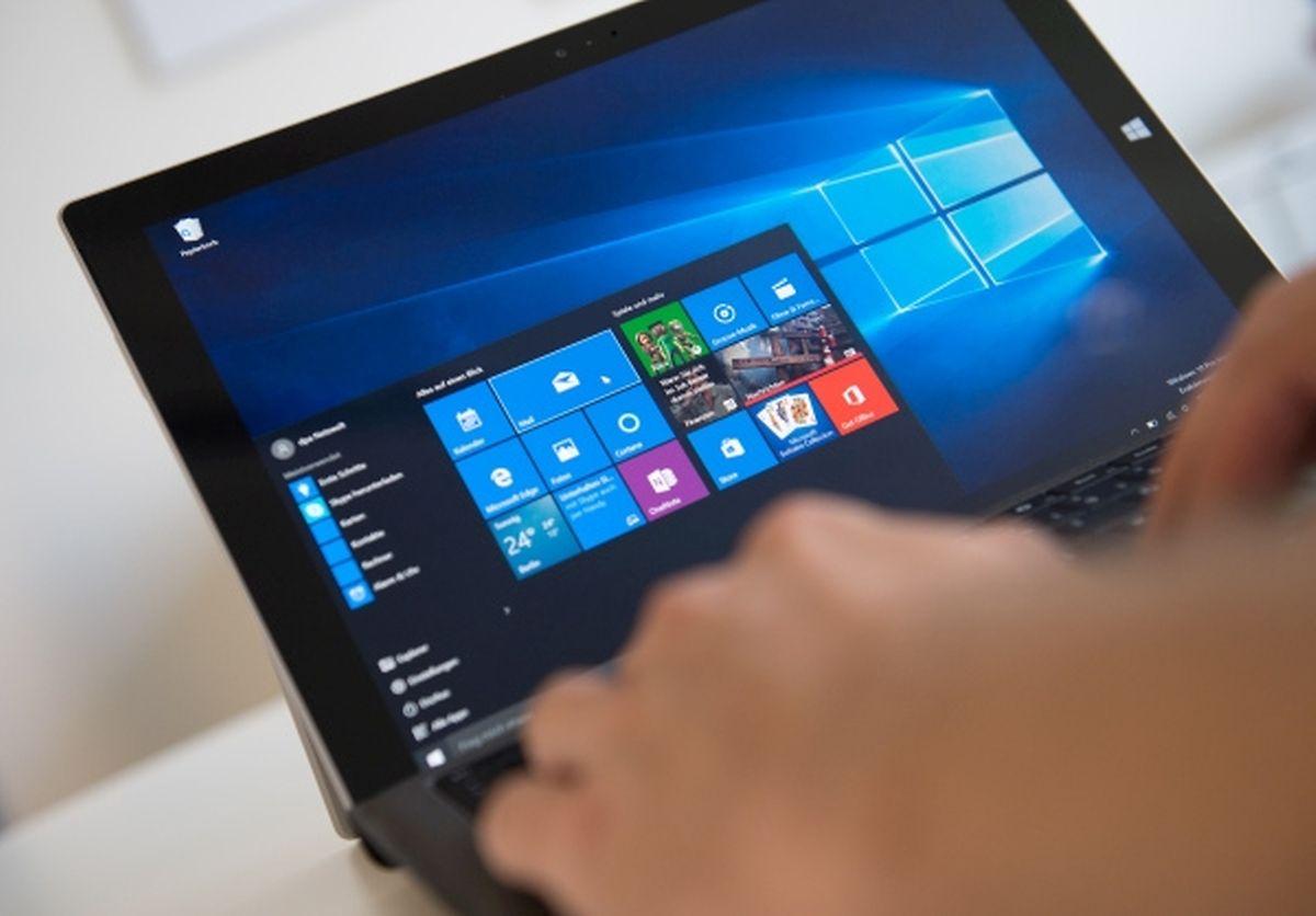 Auch auf nicht speziell für Windows 10 gebauten Rechnern (hier ein Microsoft Surface 2) läuft Microsofts neues Betriebssystem.