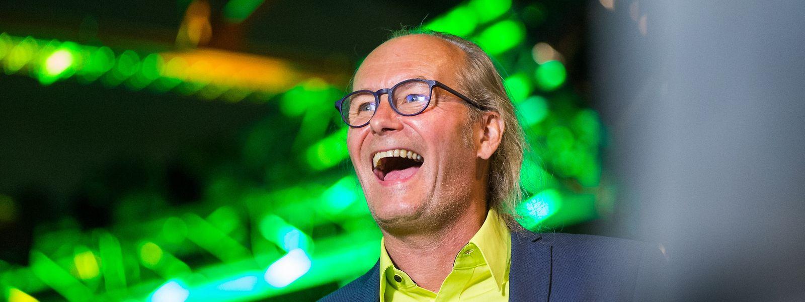 Strahlender Sieger: Staatssekretär Claude Turmes am Wahlabend.