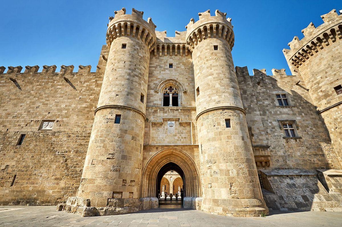 Main gates of the Knight's Grand Master Palace