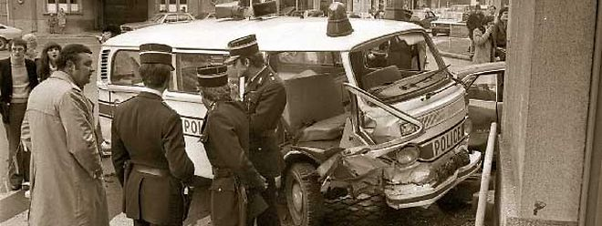 Tragischer Unfall auf der Place de l'Etoile.