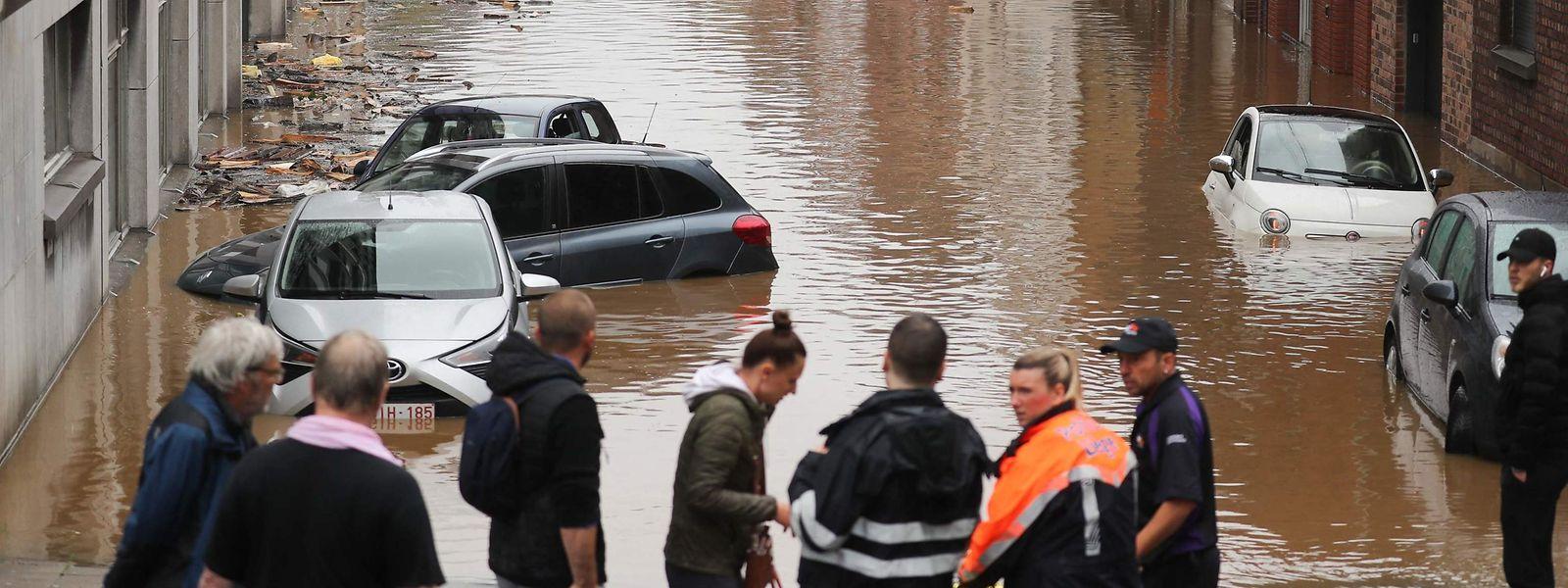 En Belgique, le coût des précédentes inondations a été estimé à 150 millions d'euros pour les compagnies d'assurance. Soit a priori 30 millions de plus qu'au Grand-Duché.