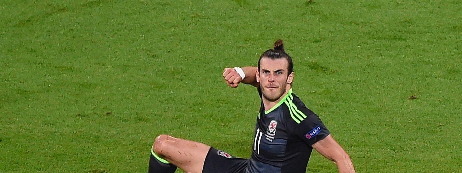 Im Duell der beiden Spieler von Real Madrid musste Gareth Bale (am Boden) Cristiano Ronaldo den Vortritt überlassen.