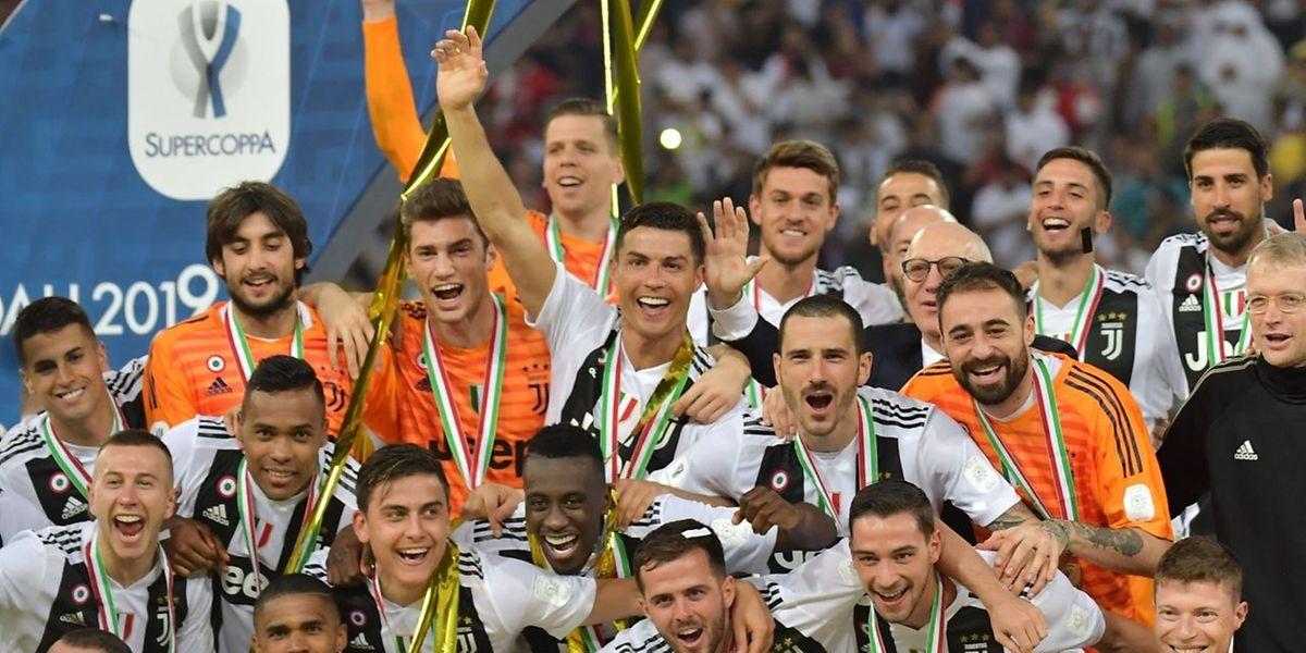 Et un trophée de plus pour les Bianconeri, un!