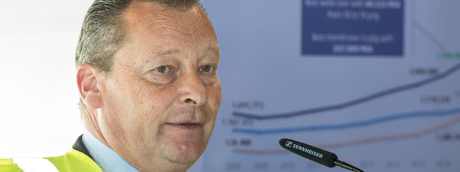 Au 1er juillet 2019, Martin Isler laissera sa place d'Executive vice-president airline de Luxair à Laurent Jossart.