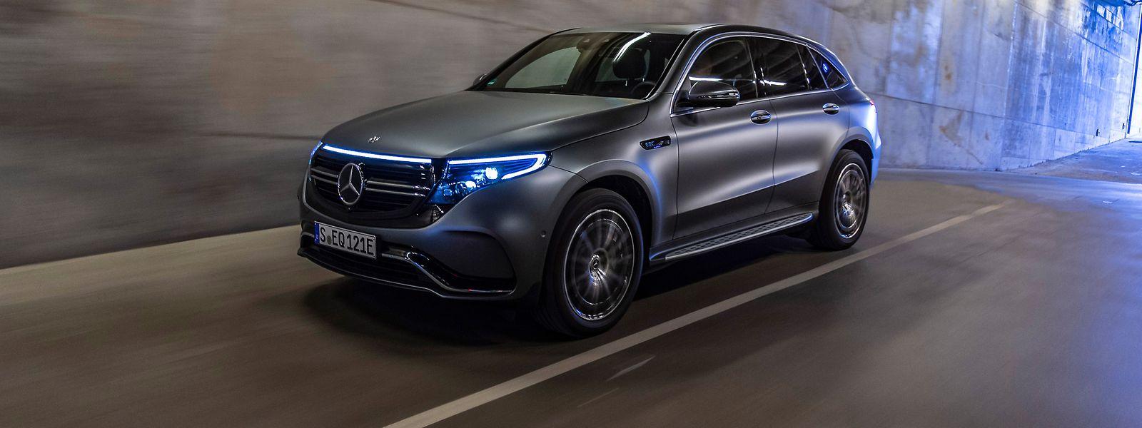 Mit dem SUV-Modell EQC hat Mercedes-Benz im vergangenen Jahr das erste Fahrzeug seiner Elektromarke EQ auf den Markt gebracht.