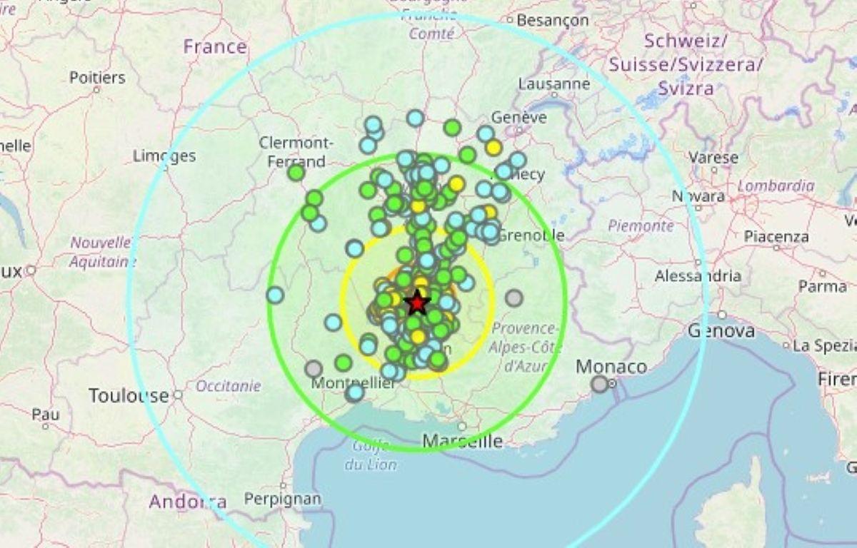 Montélimar in Frankreich: Erdbeben im Südosten fordert Verletzte