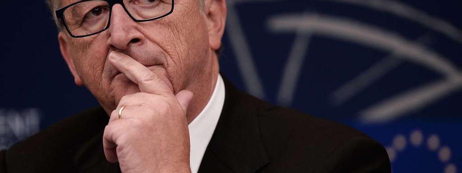 Es gilt als unwahrscheinlich, dass Juncker seinen Job als Chef der EU-Kommission verliert.