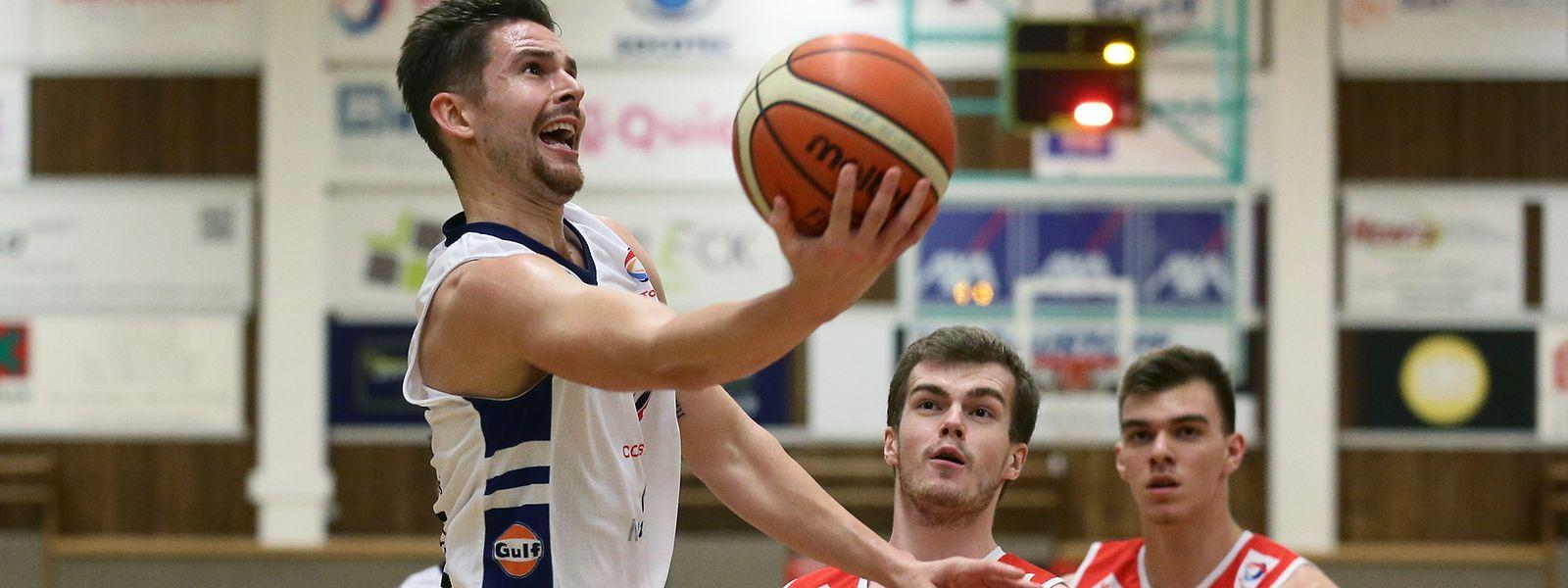 Pit Biever und Basket Esch müssen am ersten Spieltag gegen Amicale antreten.