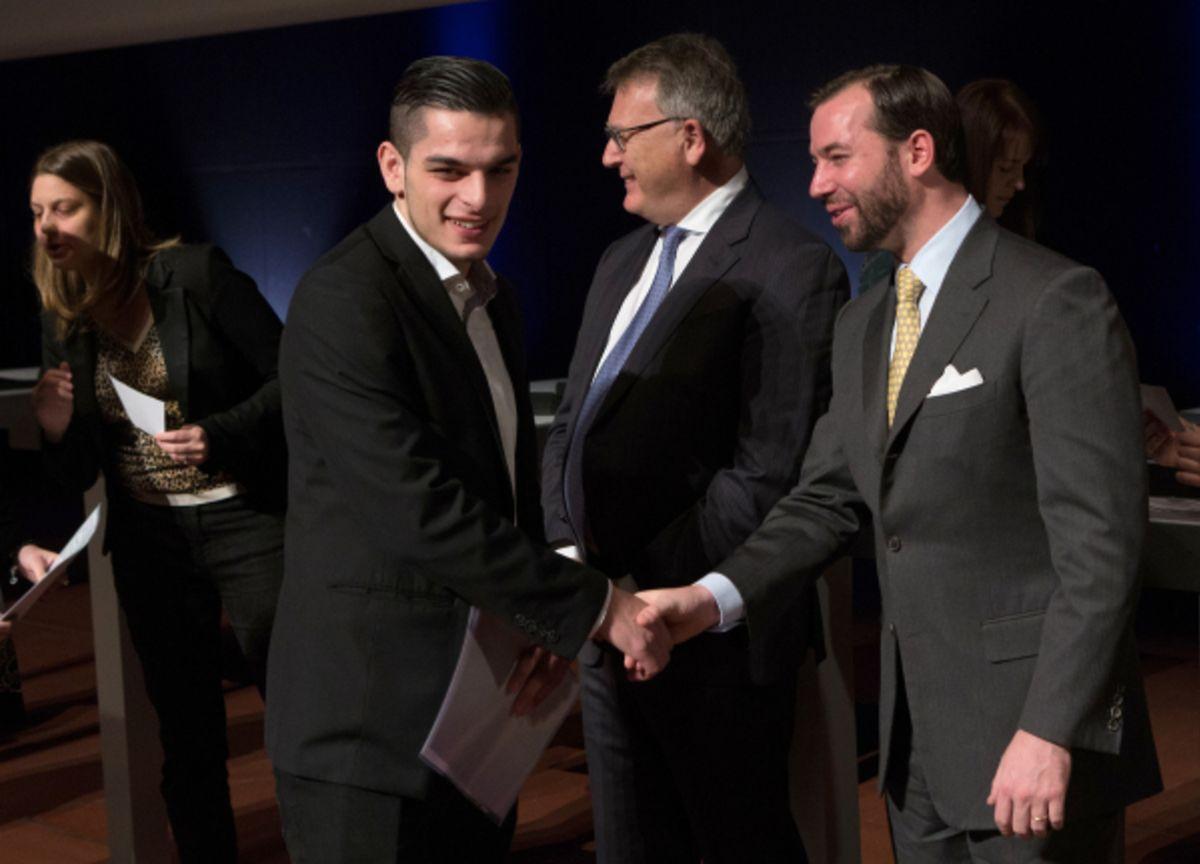Im Beisein von Erbgroßherzog Guillaume, Unterrichtsminister Claude Meisch und Arbeitsminister Nicolas Schmit wurden 662 ehemalige Auszubildende für ihre Leistungen geehrt.