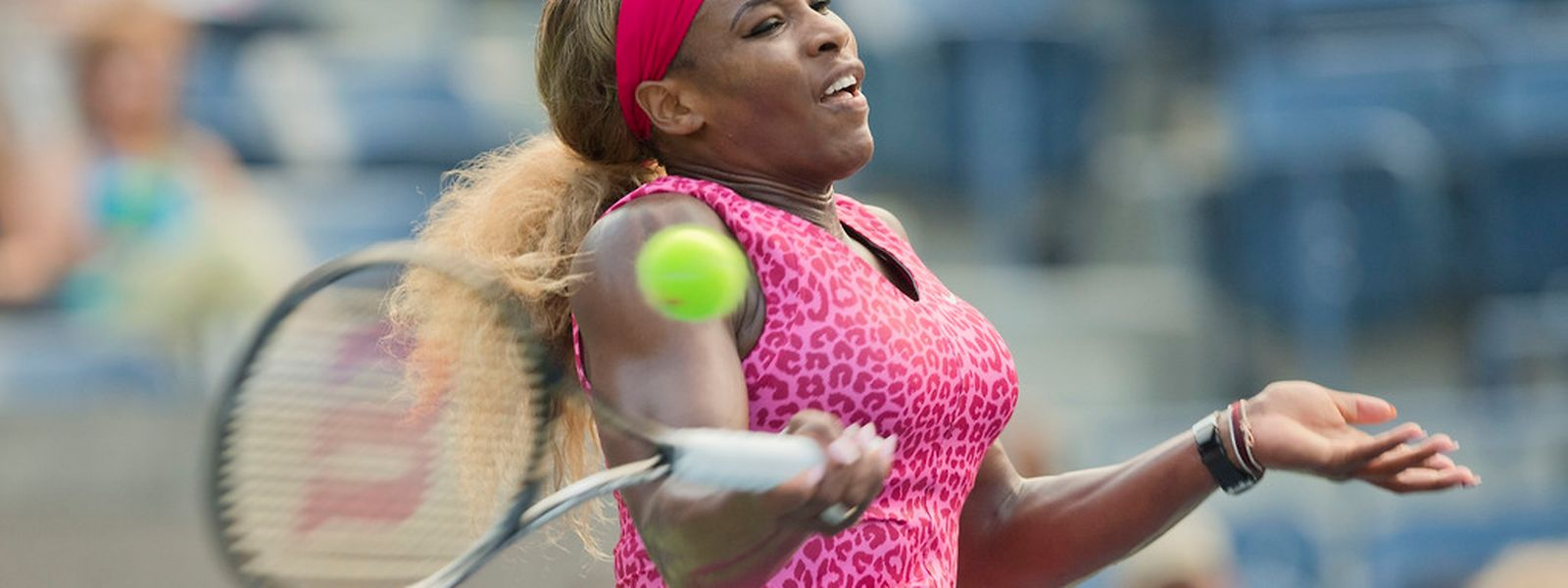 Serena Williams a dominé tout au long de la rencontre.