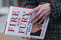 """Das Buch """"Fire and Fury"""" sorgt in Washington für Kontroverse."""