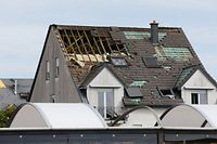 Lokales, online, Bascharage,  ,Tornado, Sturm, 2. Tag, Helfer, Aufräumarbeiten,   Foto: Anouk Antony/Luxemburger Wort