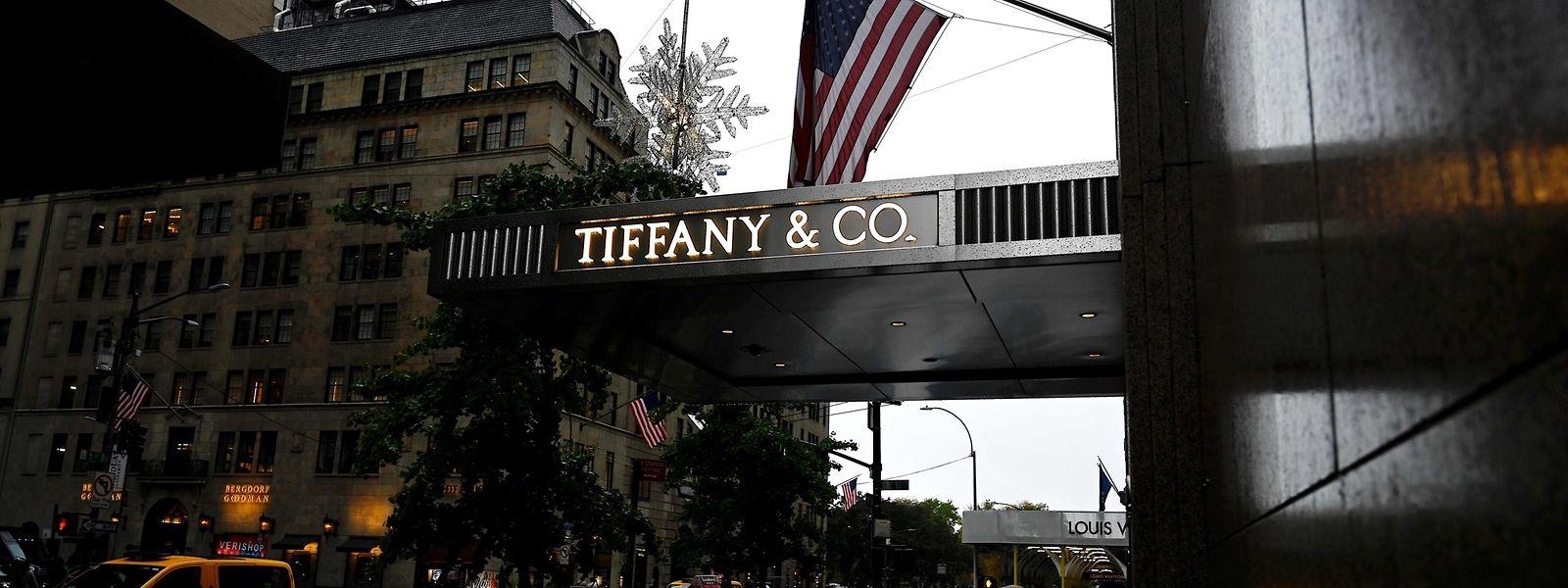 Le siège du joaillier de luxe dans la 5e Avenue à Manhattan (New York).