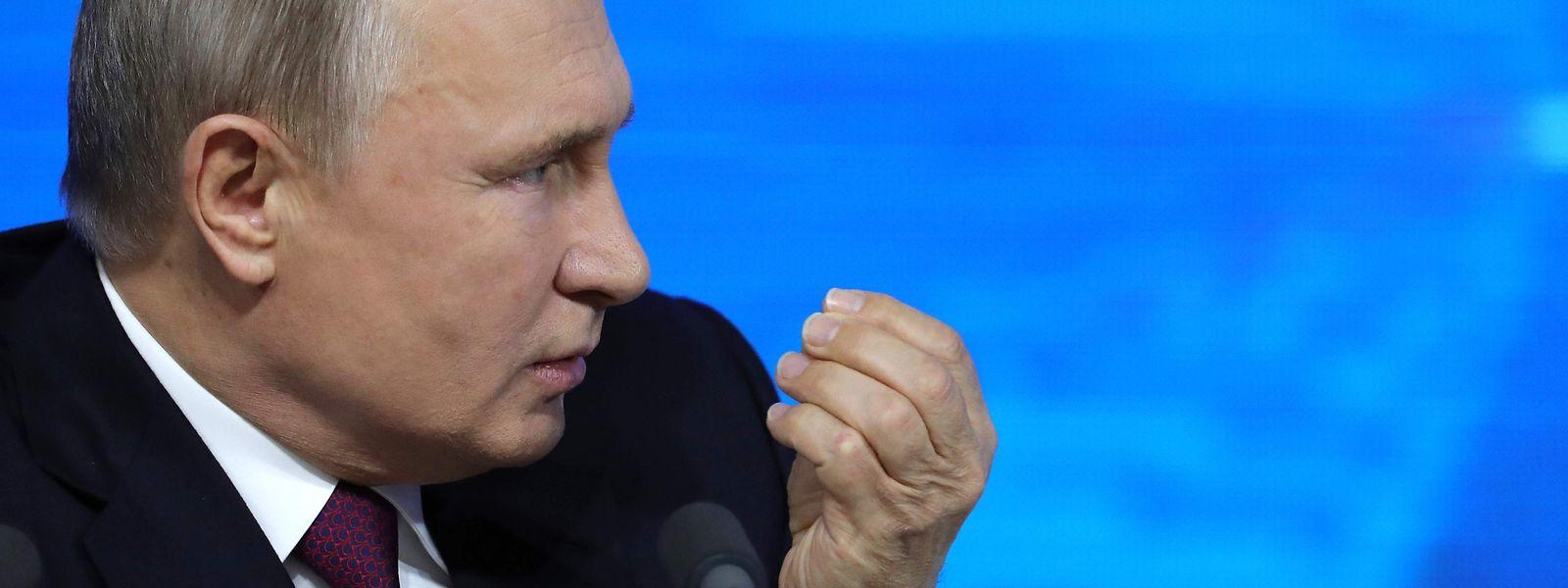 Putin warnte vor den Gefahren eines Atomkriegs.