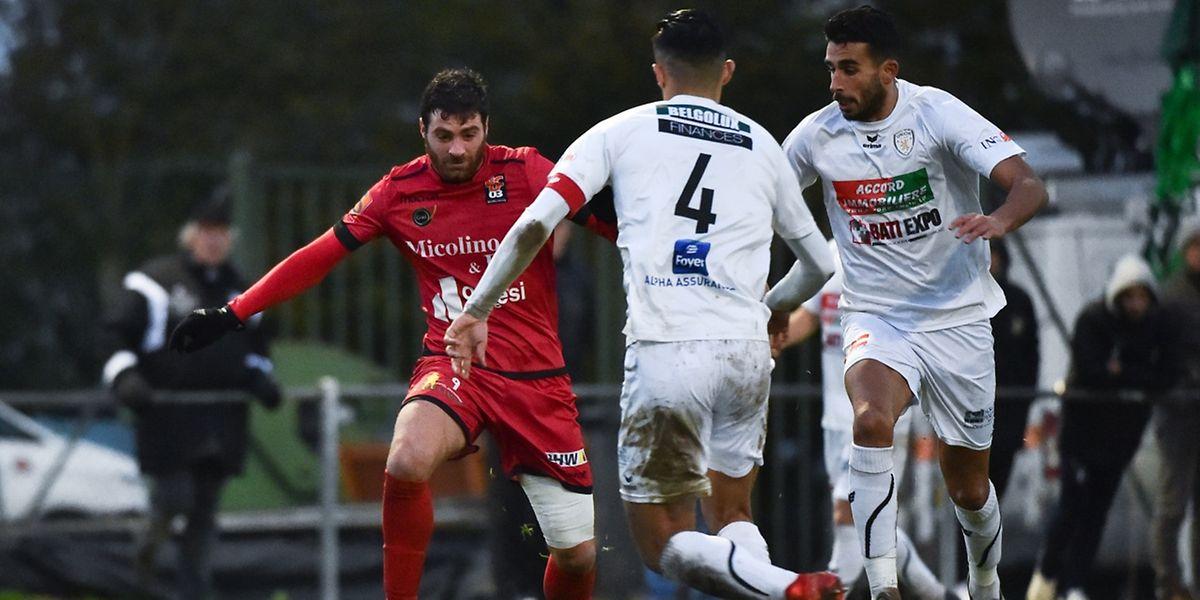 Nicolas Perez a libéré Differdange ce dimanche.