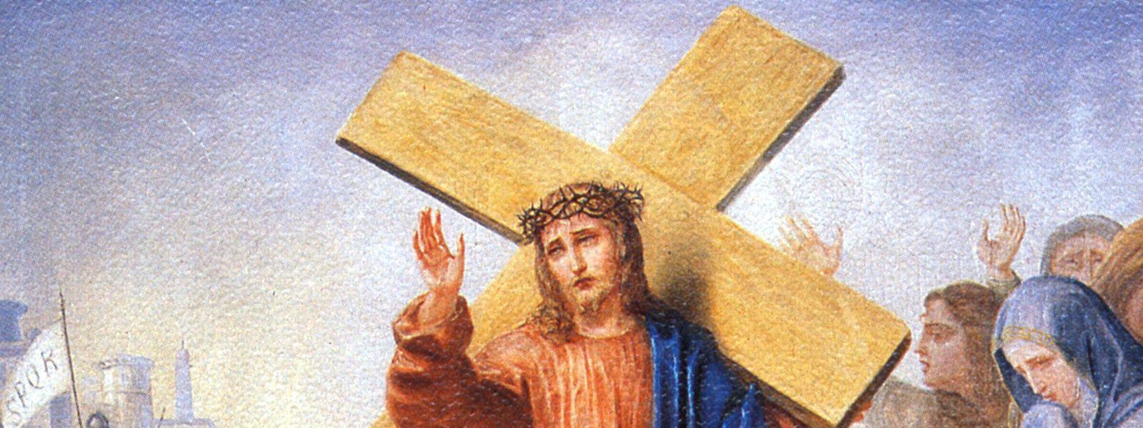 An Karfreitag steht der Tod Jesu im Mittelpunkt. Kein Ostern ohne Karfreitag.