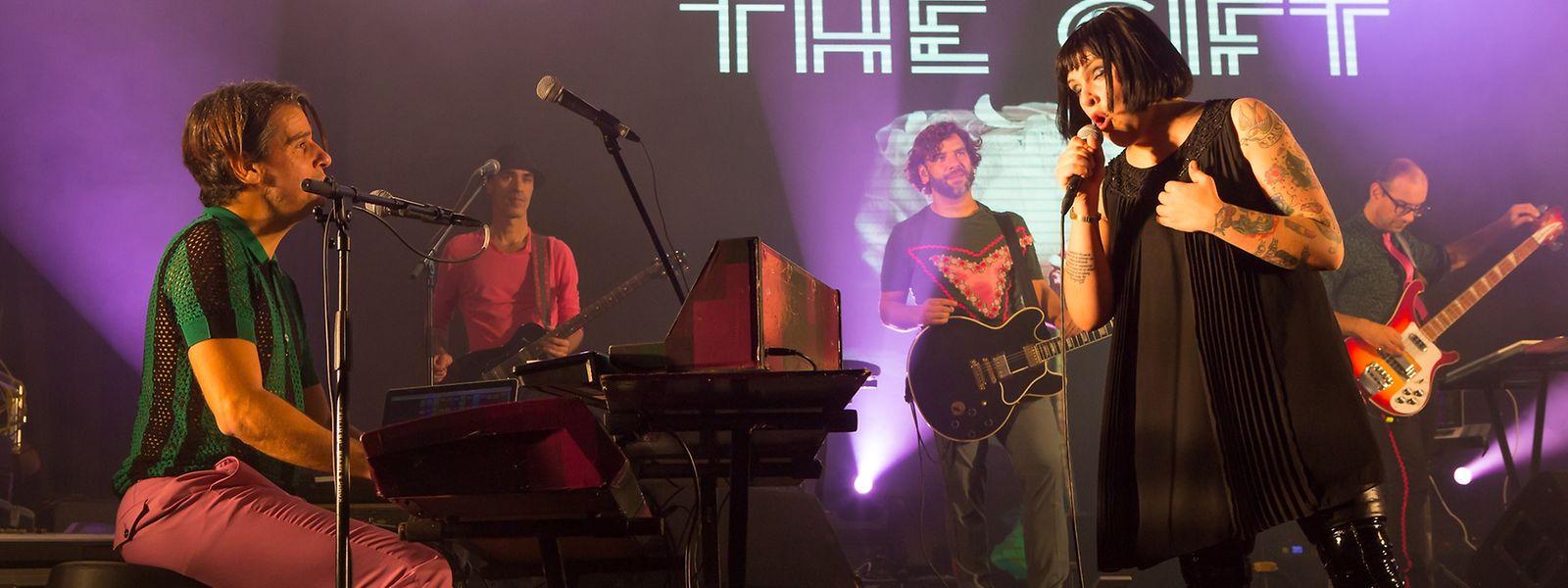 The Gift em concerto no Däichhal, em Ettelbruck, no dia 19 de novembro 2016.
