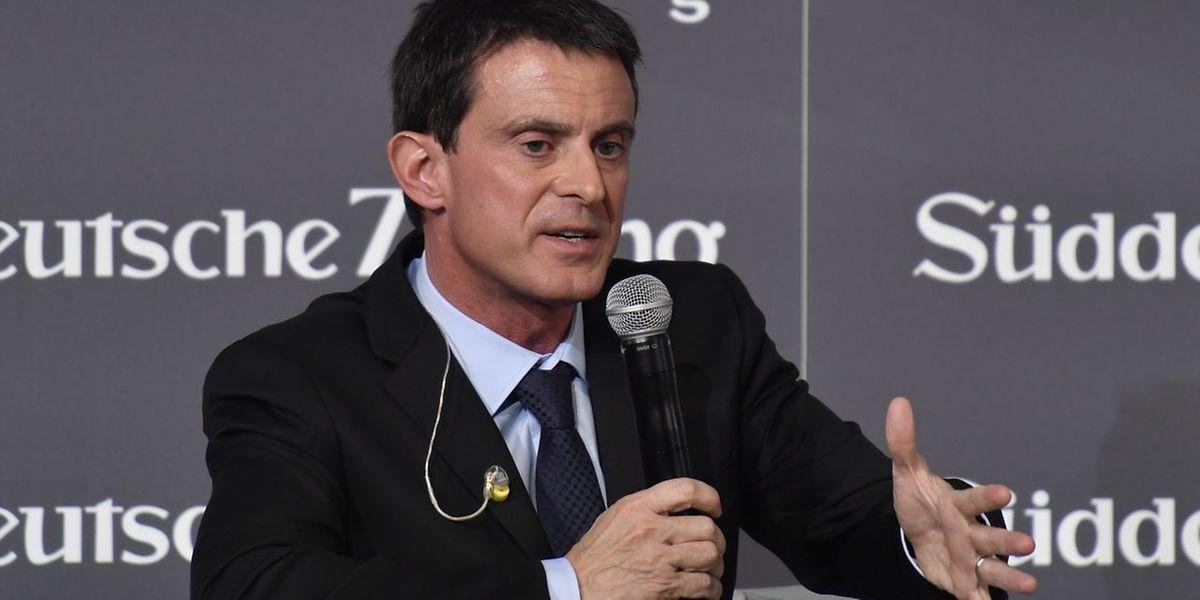 """""""Wir müssen die Dinge mutig beim Namen nennen"""", fordert Frankreichs Regierungschef Manuel Valls."""