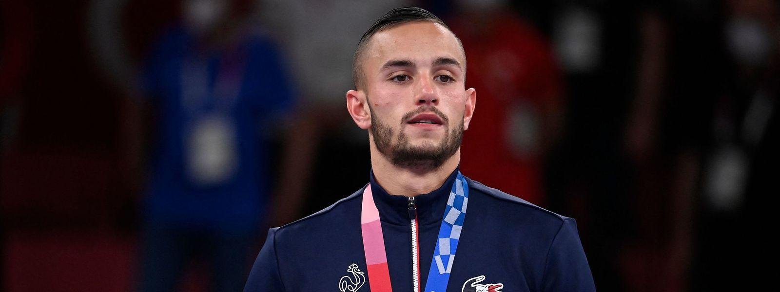 Le jeune homme de 24 ans ajoute une médaille olympique à son titre de champion du monde de 2018 et de n°1 mondial dans sa catégorie.