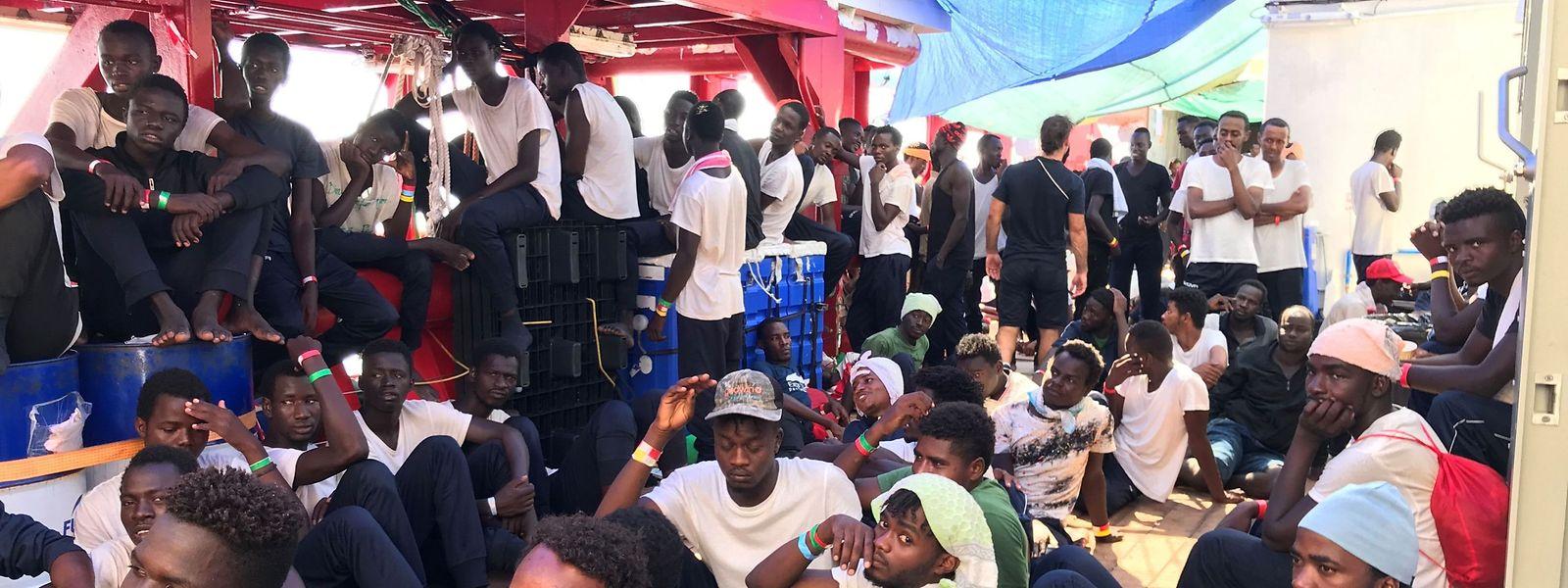 Depuis l'automne dernier, le Luxembourg a déjà accepté 56 migrants qui avaient été recueillis en Méditerranée sur des bateaux humanitaires.