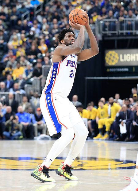 Joel Embiid a inscrit 32 points pour les Philadelphia 76ers contre Houston
