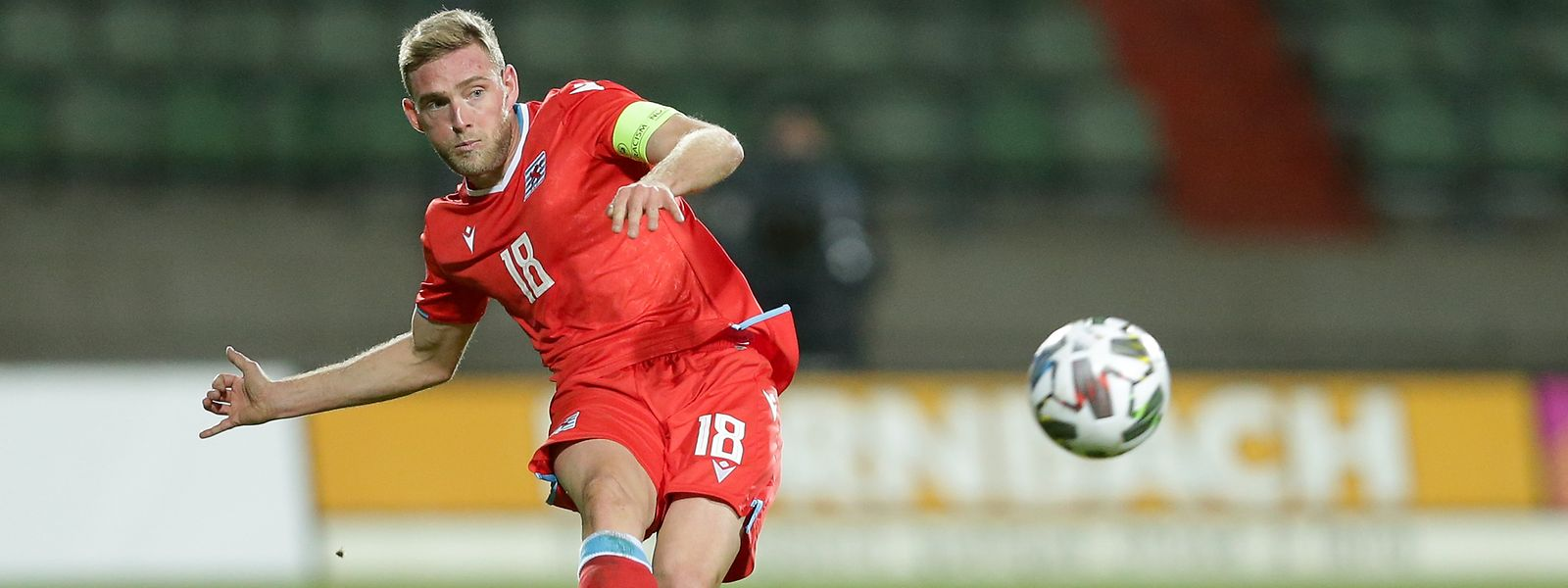Laurent Jans ist in der Nations League einer der besten Luxemburger.