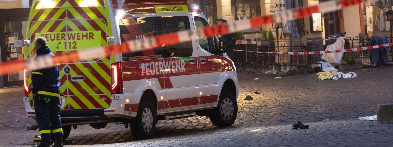 Bei der Amokfahrt durch die Trierer Fußgängerzone sind am 1. Dezember 2020 fünf Menschen getötet worden.