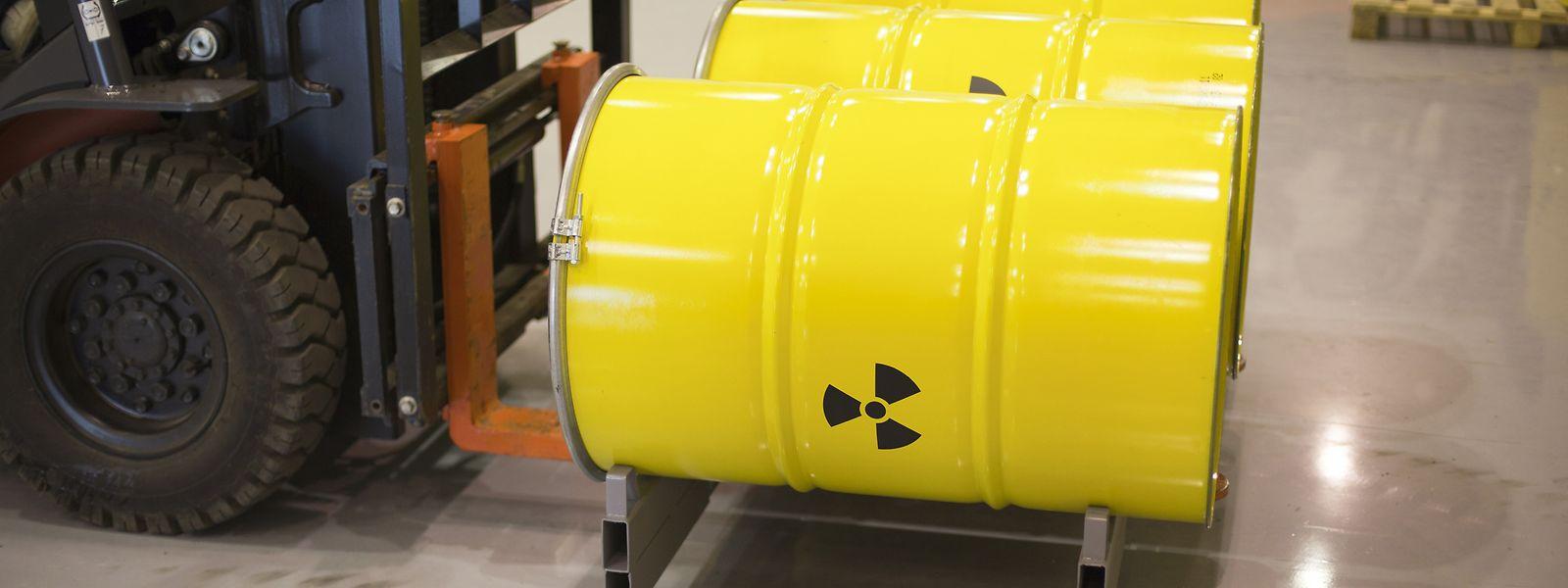 Unterirdisch gelagerter Atommüll muss während tausenden von Jahren abgesichert sein.