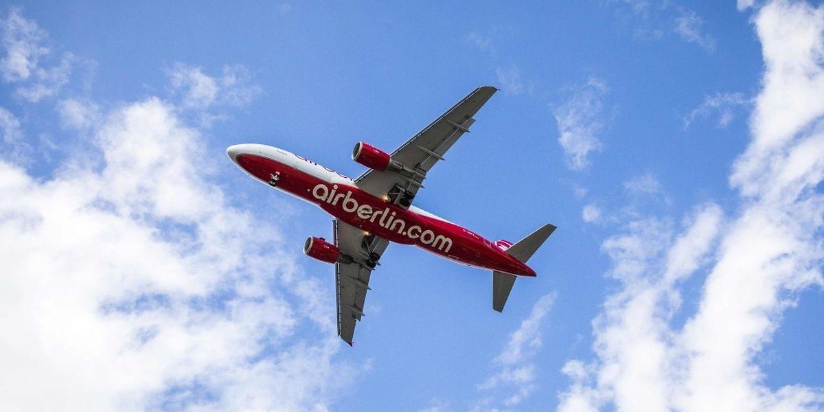 Air Berlin hatte Mitte August Insolvenz angemeldet.