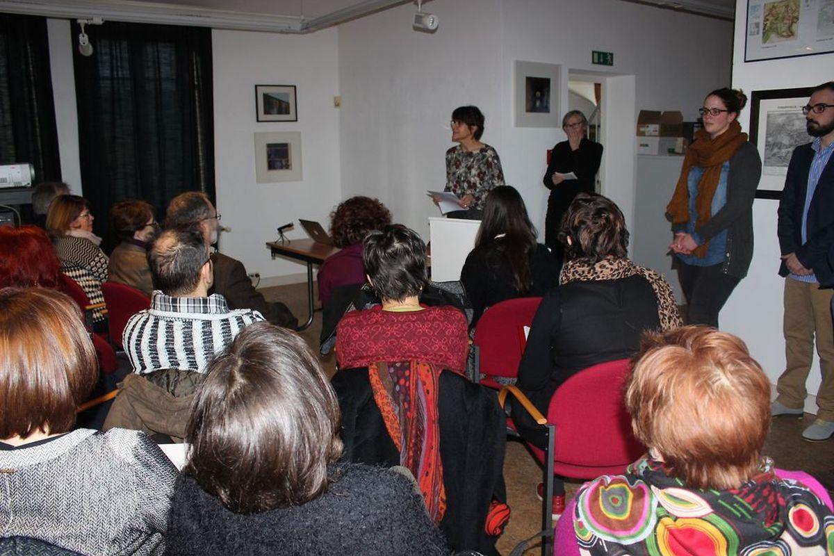 Mais de meia centena de pessoas estiveram no domingo na apresentação dos trabalhos no Centro de Documentação das Migrações Humanas, em Dudelange