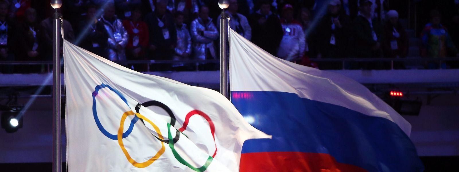 Russland darf in den kommenden beiden Jahren nicht an Olympia teilnehmen.