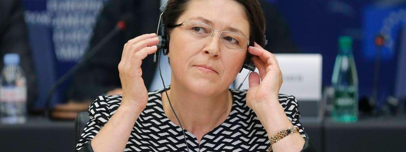 Violeta Bulc ist seit kurzem in Slowenien Entwicklungsministerin. Nun soll sie in die EU-Kommission rücken.