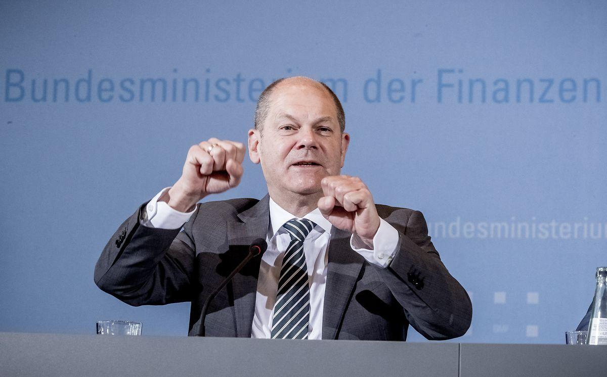 Le ministre des Finances, Olaf Scholz, estime que l'Allemagne mène déjà une politique «très ambitieuse» en matière d'investissements.
