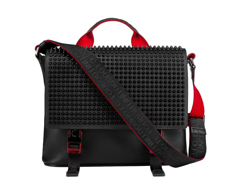 Messengerbag von Christian Louboutin, um 1.590 Euro.