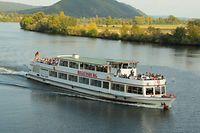 Kaum gealtert: Nur wenig verändert hat sich das Schiff von den 1980er-Jahren bis heute. Nur der Name hat sich geändert.