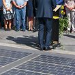 Inauguration of the ÒWattwayÒ, the new solar street equipped with solar collector cells in Belval. Belval, Luxembourg - 12. 11. 2018 photo: Matic Zorman / Luxemburger Wort