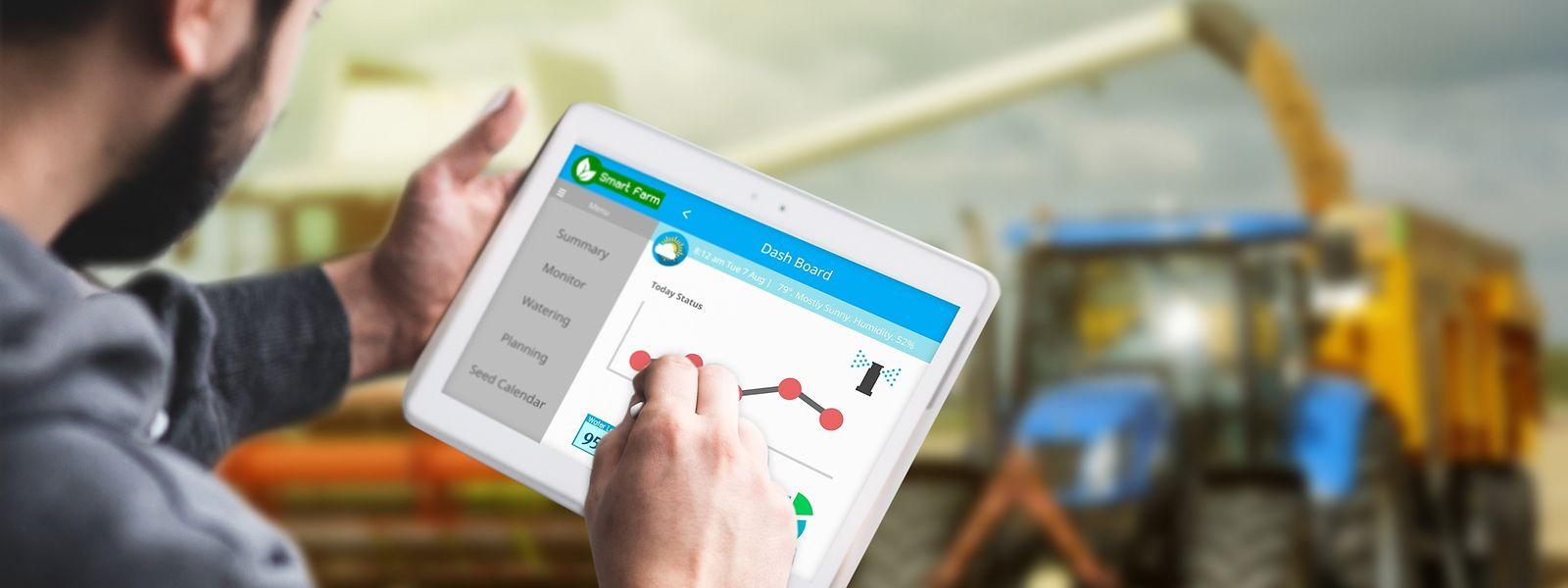 Die digitalisierte Landwirtschaft verspricht viele Fortschritte.