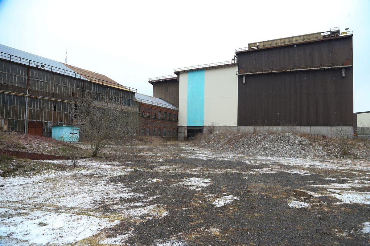 Le grand hall de l'aciérie était en discussion pour les studios de cinéma.