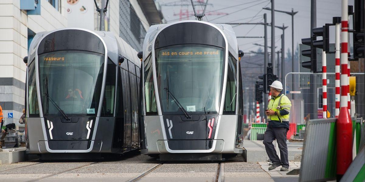 La semaine, un tram passera toutes les 6 minutes durant la journée. Le dimanche toutes les 15 minutes.
