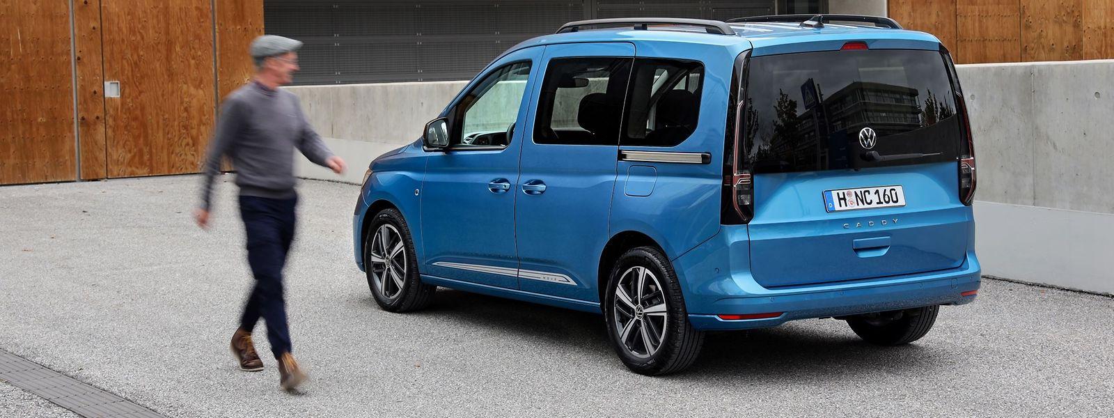 Neuer Look und noch flexibler als der Vorgänger: Sowohl im privaten wie im beruflichen Gebrauch leistet der VW Caddy gute Dienste.