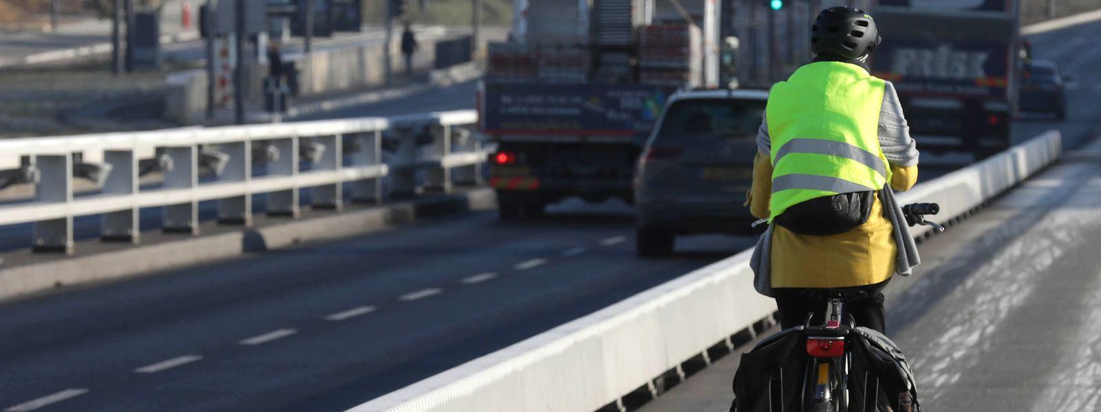 Einer Studie zufolge steigt die Bereitschaft der Bürger, Rad zu fahren, wenn die Wege vom restlichen Verkehr getrennt sind.