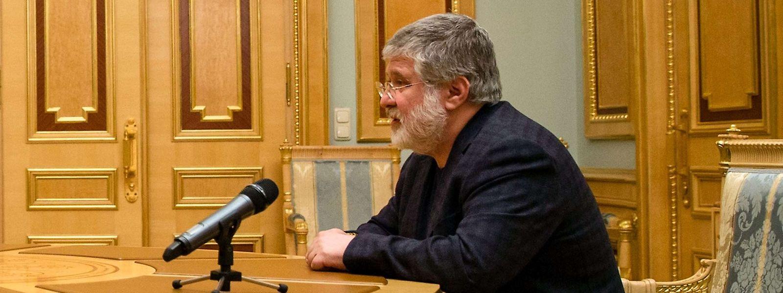 Ihor Kolomoiskyj - milliardenschwerer Unternehmer und vermeintlicher Strippenzieher hinter den Kulissen.