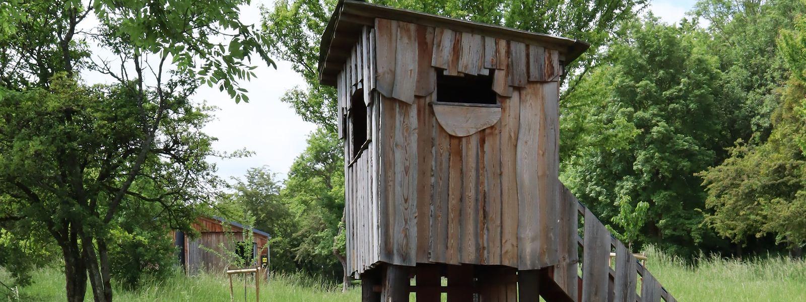 Der kleine Kinderturm wird teilweise als Toilette missbraucht.