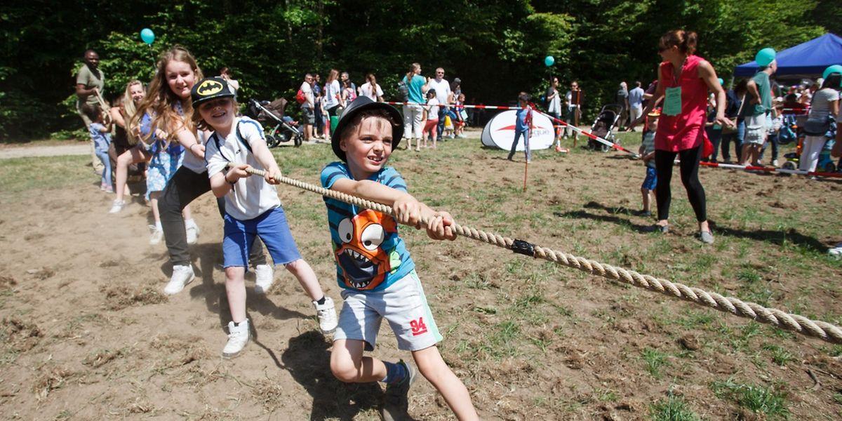 """Bei der diesjährigen 36. Ausgabe des Festes, das vom """"Comité olympique et sportif luxembourgeois"""" (COSL) organisiert wird, war zwischen 10 und 17.30 Uhr rund um die Weiher in Kockelscheuer eine Menge los."""