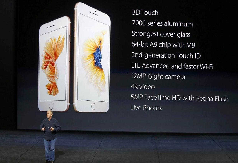 """Das neue iPhone wird mit """"3D Touch"""" ausgestattet."""