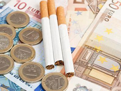 Der Verkauf von Zigaretten geht in Luxemburg seit Jahren zurück, der Absatz von Feinschnitttabak ist eher stabil.