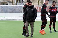 Manuel Correia, entraîneur FC UNA Strassen / Foto: Stéphane Guillaume