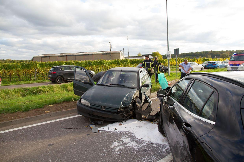 Die Unfallursache ist bisher unbekannt.