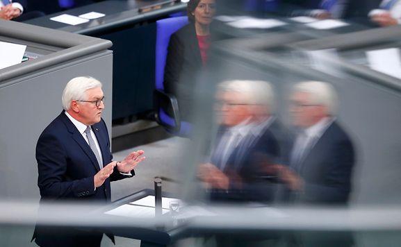 Steinmeier als Bundespräsident vereidigt